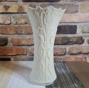 Lenox Woodland Collection Sculptured Leaves Vase